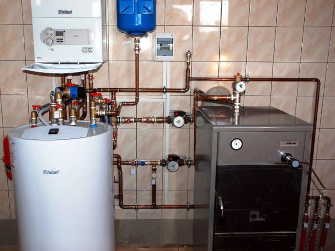 Монтаж систем отопления в Полтаве