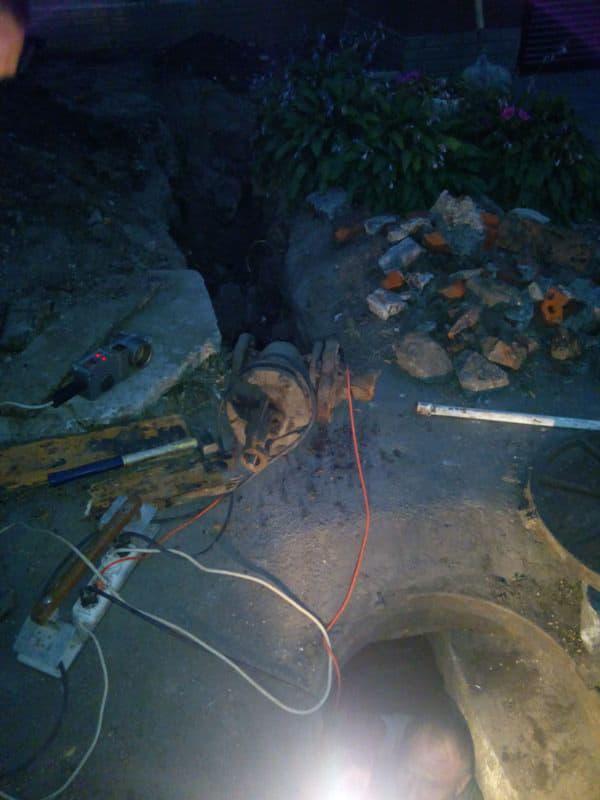 Подключение объекта к центральной сети канализации