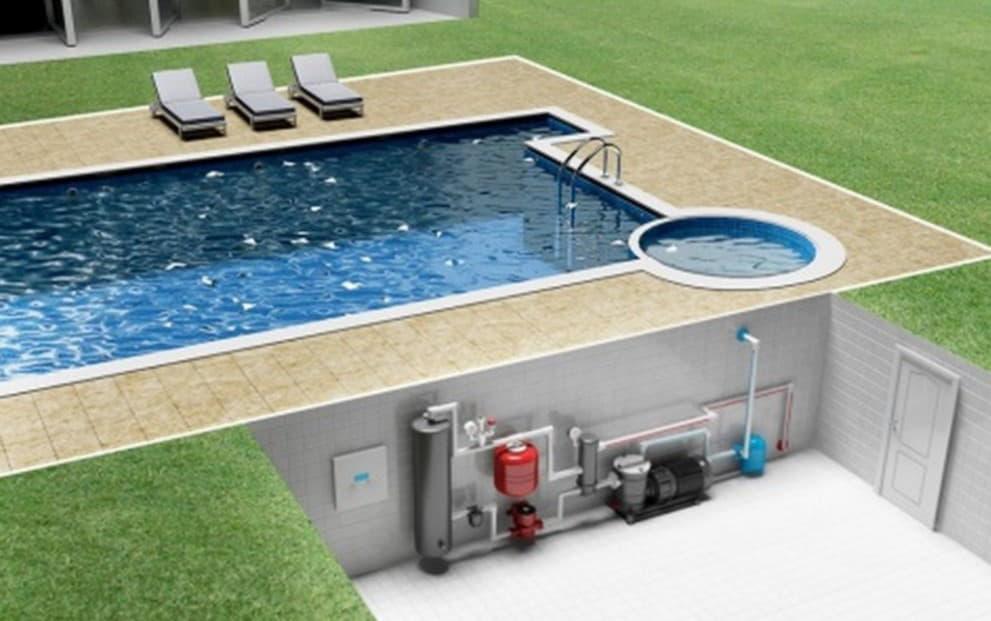 Как построить бассейн на своем участке