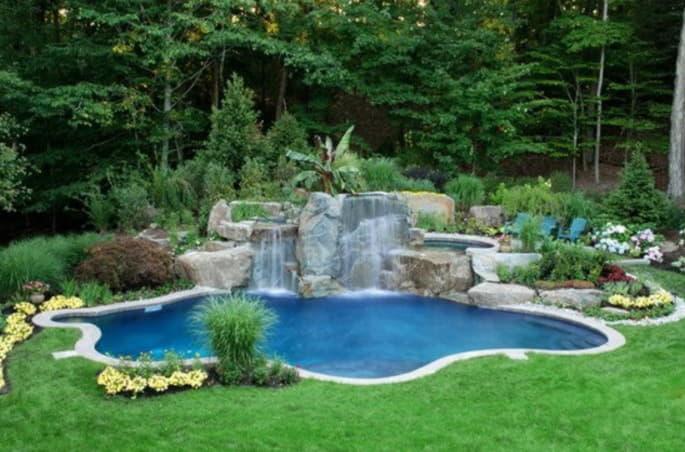 Собственный бассейн на дачу