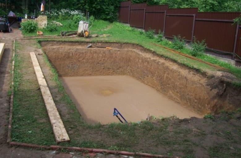 создания котлована бассейна