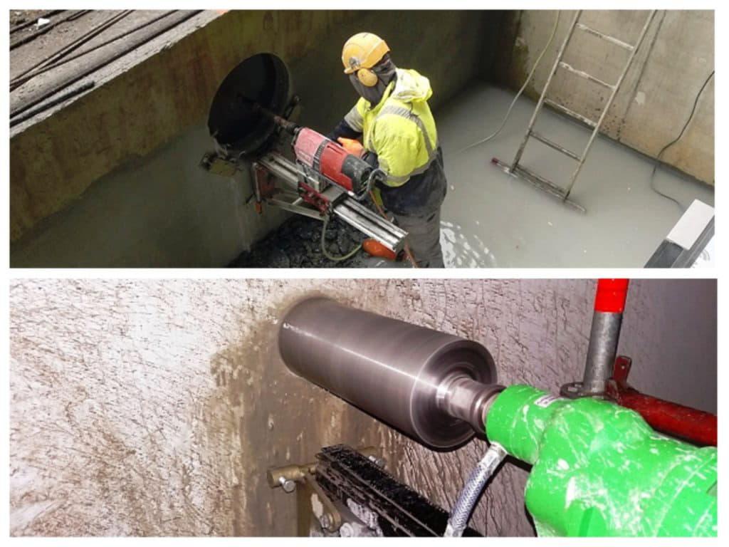 Как заказать сверление бетона по низкой цене в Полтаве и Полтавской области