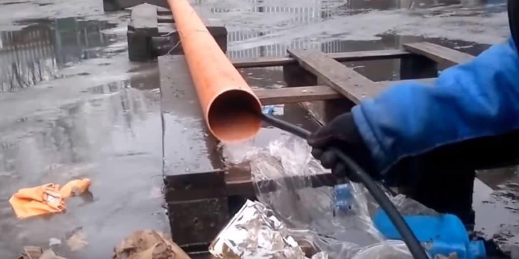 Промывка труб гидродинамическим методом в Полтаве