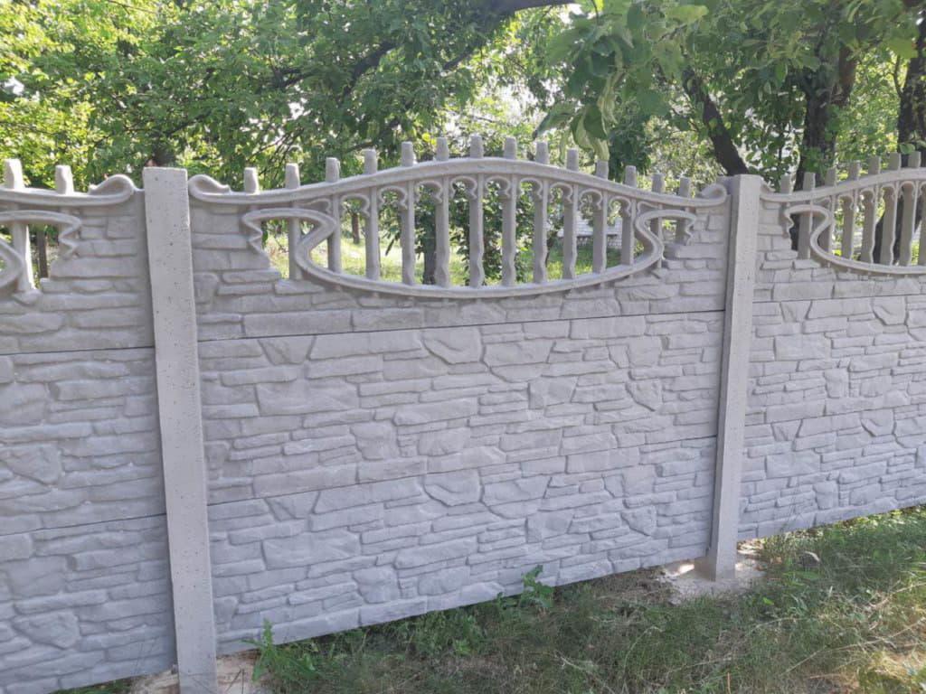 Купить бетонный еврозабор в Полтаве и Полтавской области