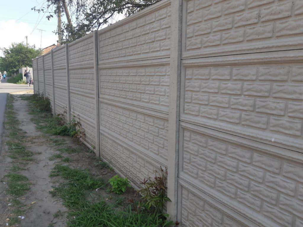 Стоимость бетонного забора